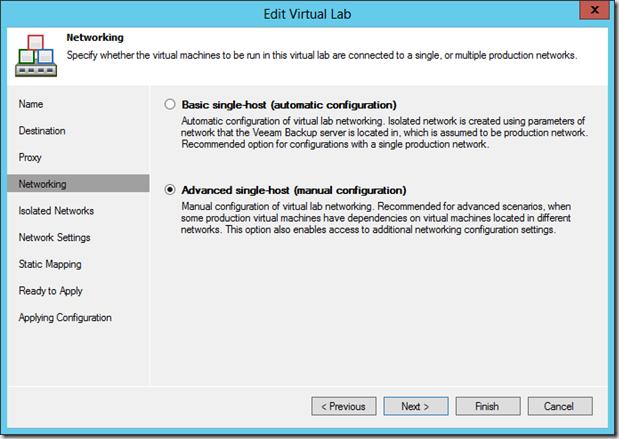 Die Erstellung und Nutzung von Sure Backup in Veeam Backup