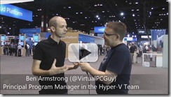 Videointerview with Ben Armstrong about Hyper-V in WS2016 Thumb2
