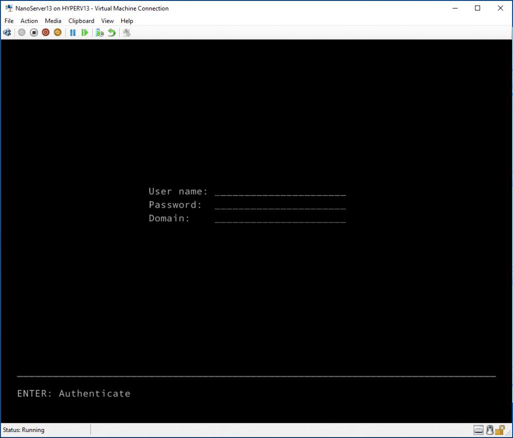 Nano Server Installation - 007