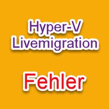 Livemigration Error