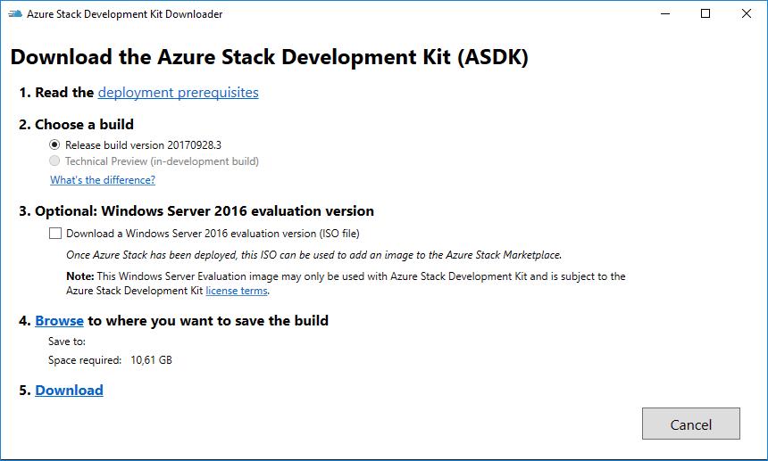 Installing Azure Stack Development Kit in a Hyper-V Nested VM