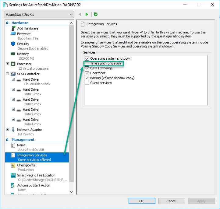 Installing Azure Stack Development Kit in a Hyper-V Nested
