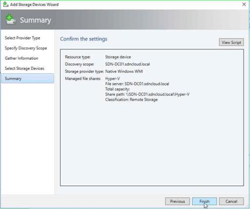 Webbasierte Serverdefinition
